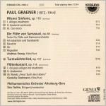 Paul Graener Innenseite Rahmen k
