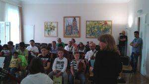 Musik macht Heimat in der Musikschule H.Schütz am 13.6.16