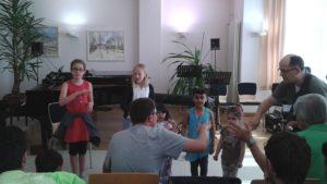 Musik macht Heimat -interaktive Musikstunde am 13.6.16