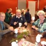 Ein Schwatz bei Kaffe oder Glühwein und leckeren selbstgebackenen Weihnachtsplätzchen von Doris Meißgeier.